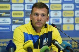 Один или два игрока из резерва точно приедут в сборную - Шевченко