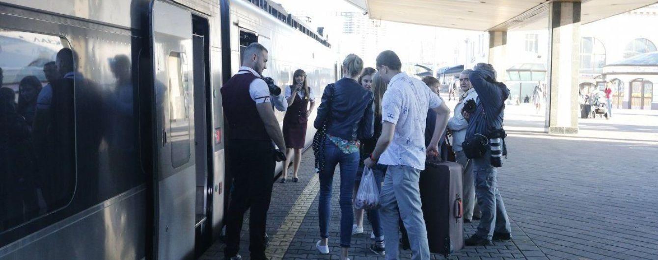 """""""Укрзалізниця"""" попередила про зміни в графіку трьох """"Інтерсіті"""" через поїзд до Перемишля"""