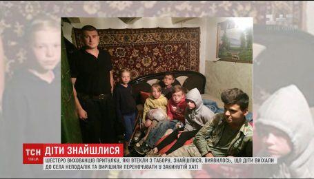 Маленькі втікачі: вихованців притулку знайшли в покинутій хаті поблизу Чернівців