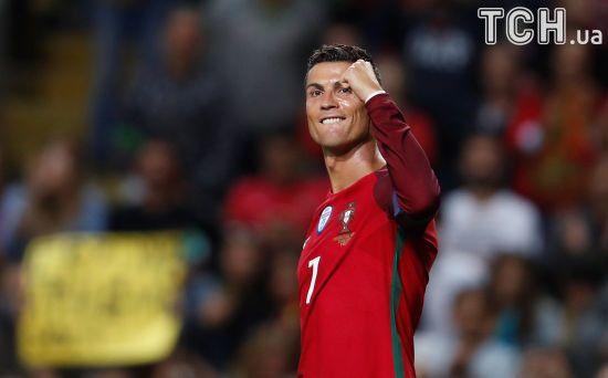 Роналду суперголом допоміг збірній Португалії розгромити Фарерські острови