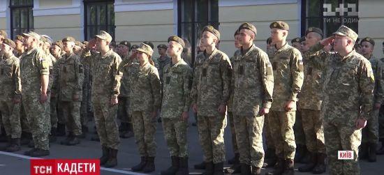 У свято знань військовий ліцей Богуна прийняв три сотні новачків