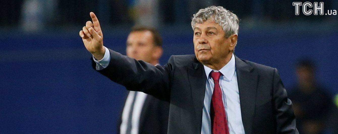 Луческу с телефоном преследовал арбитра матча Украина - Турция