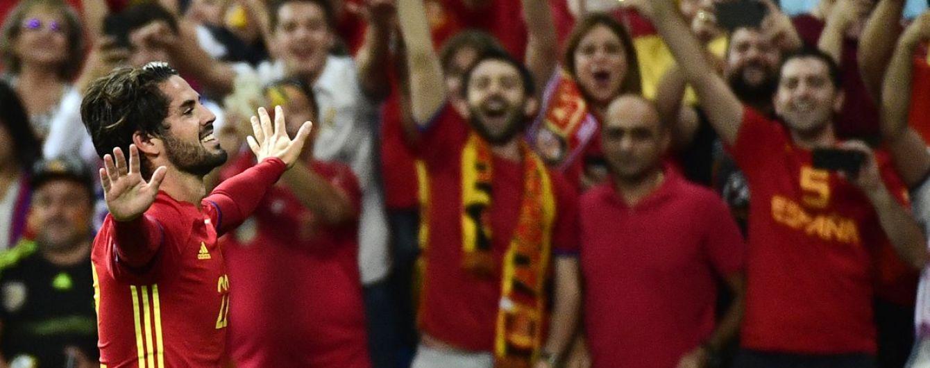 Испания прервала беспроигрышную серию Италии в отборе ЧМ-2018