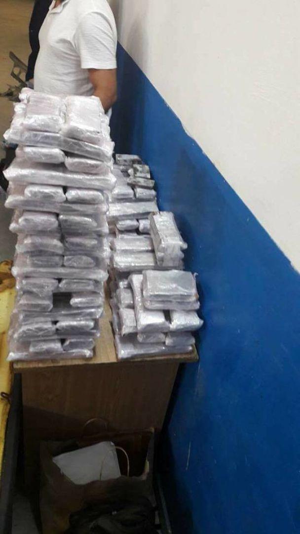 До України хотіли завезти майже 60 кілограмів наркотиків, схованих у потрощеному авто