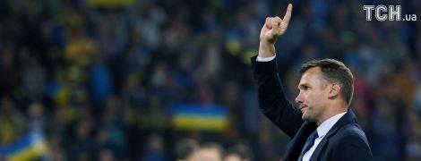 Шевченко: сборная Украины имеет хорошие шансы на выход на ЧМ-2018