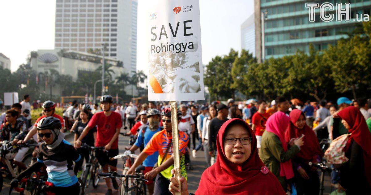 Протест в Джакарте