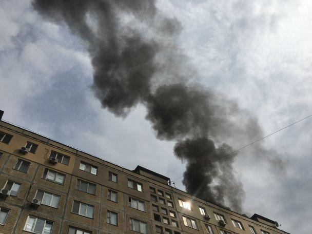 У Києві горів найдовший будинок міста