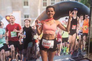 Струнка Марічка Падалко стала призеркою напівмарафону у Полтаві