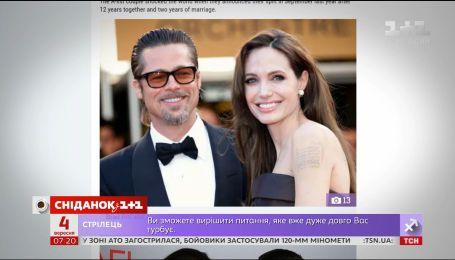 Розлучення під питанням: Пітт і Джолі не могли стримати сліз при зустрічі