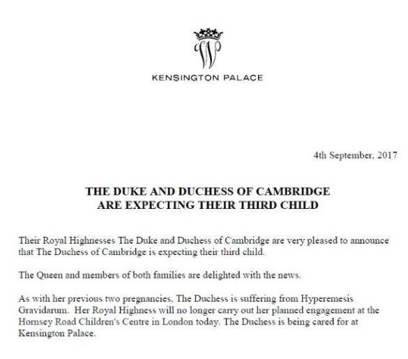Твиттер Кенсингтонского дворца