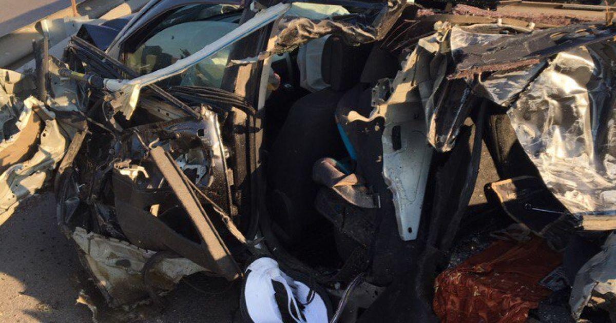Фото с места масштабной аварии @ vk.com/dtp_avarii_voronej