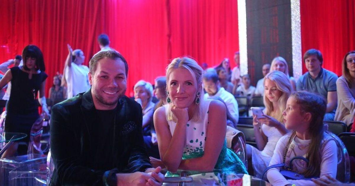 """Андре Тан з дружиною @ прес-служба каналу """"1+1"""""""