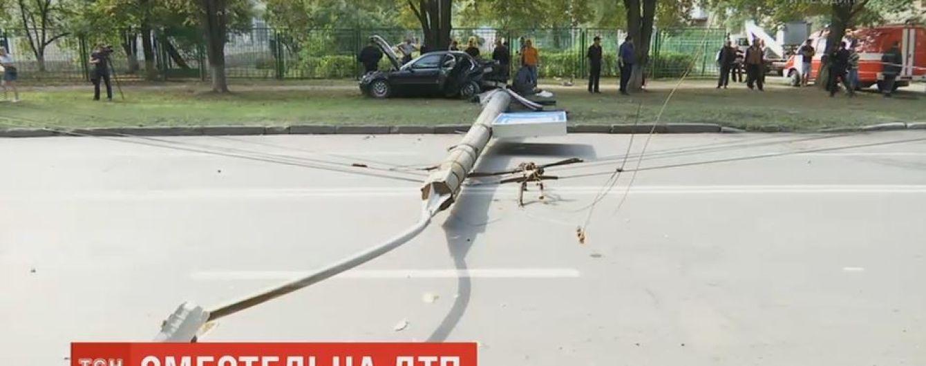 В Харькове пьяный капрал полиции спровоцировал смертельную аварию