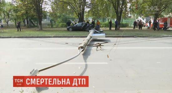 У Харкові п'яний капрал поліції спричинив смертельну аварію