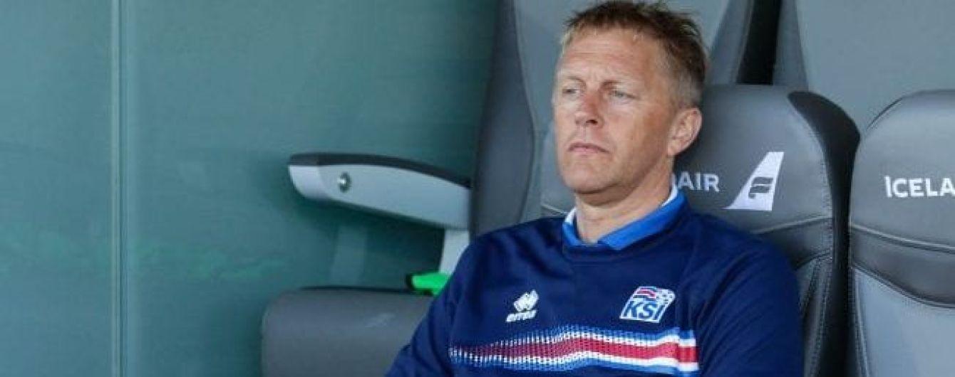 Главный тренер сборной Исландии: никаких секретов у нас нет