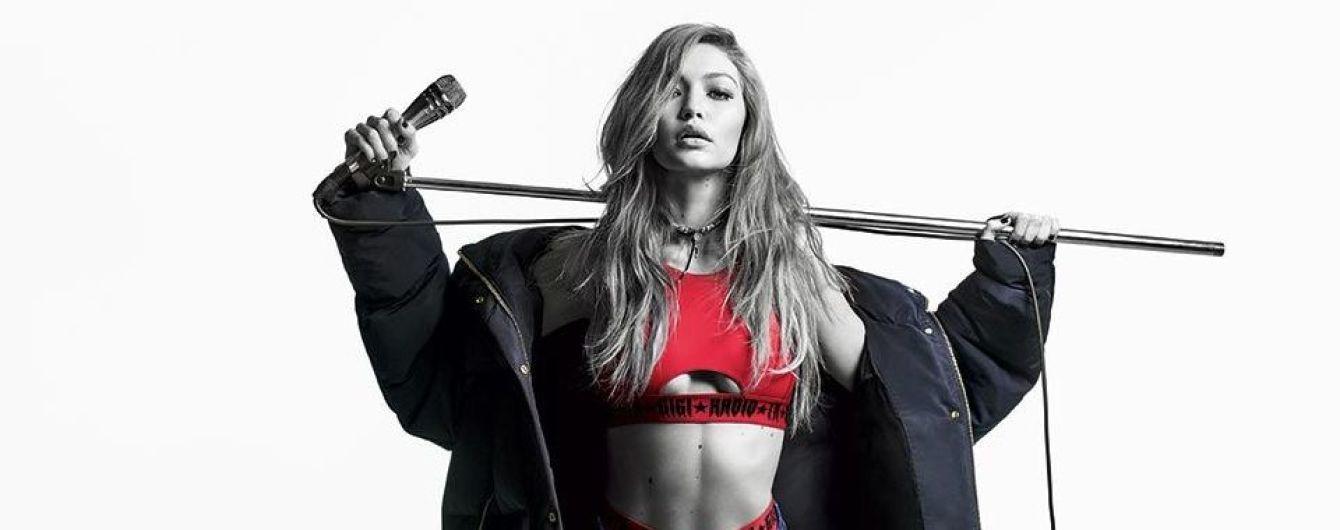 Стильная и сексуальная: Джиджи Хадид в лукбуке новой коллекции Tommy Hilfiger