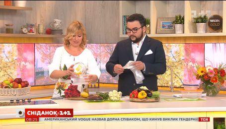 Как правильно замораживать овощи - советы представителя Джейми Оливера в Украине Дарьи Дорошкевич