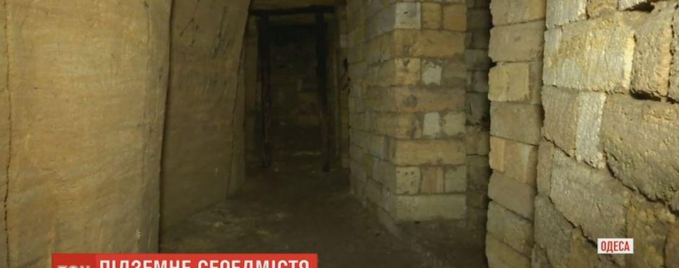 В Одессе в одной из старейших копальниць открыли подземный музей