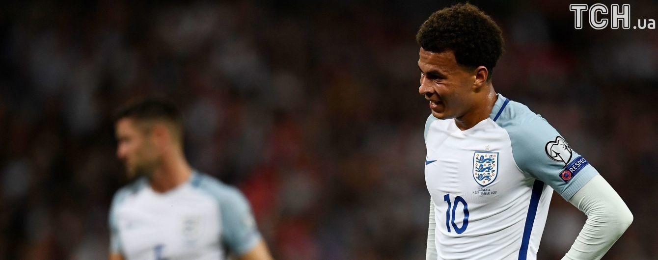 Футболиста сборной Англии могут наказать за неприличный жест