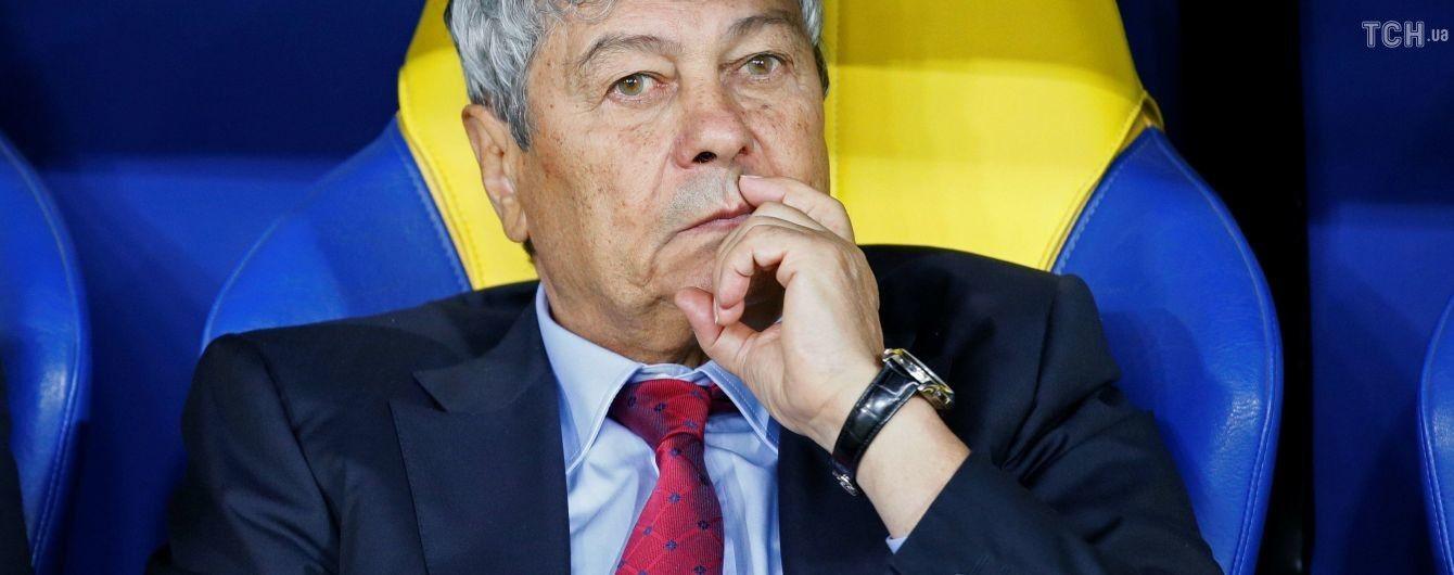 Луческу: в України іспанські тренери, судді теж були іспанці