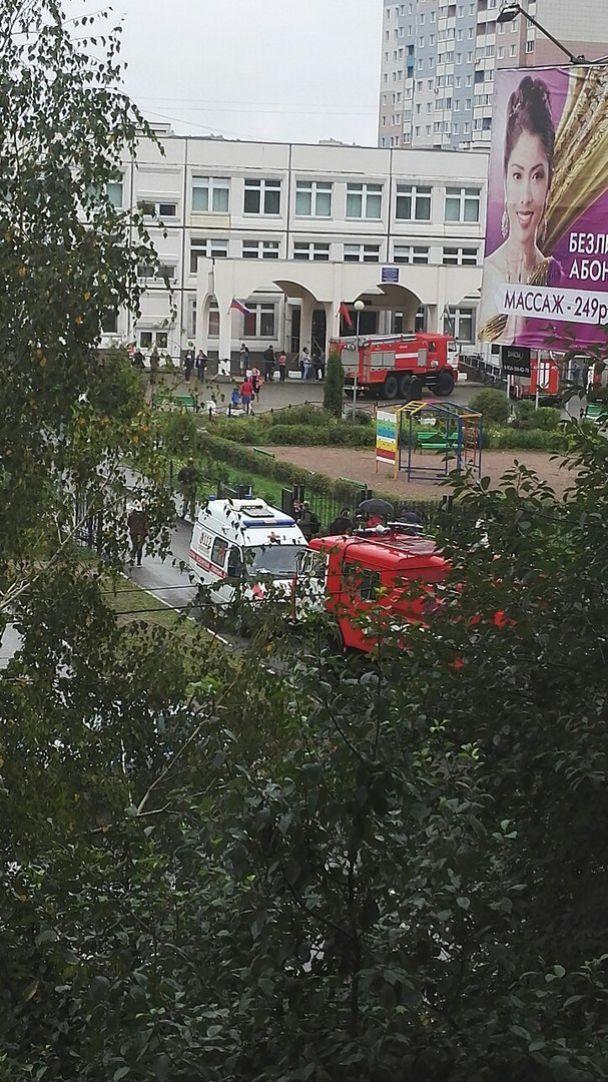 Оператор випадково зняв на відео момент нападу 9-класника на школярів у Підмосков'ї