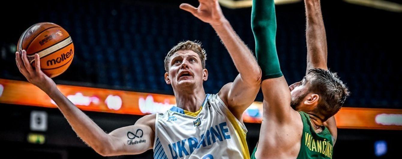 Украина потерпела разгромное поражение от Литвы на Евробаскете-2017