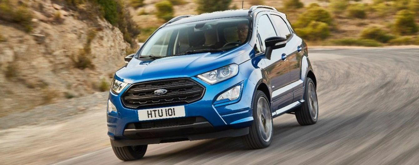 Ford представил напичканный новинками кроссовер Ford EcoSport 2018