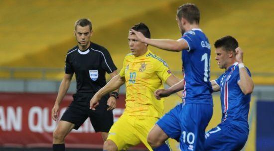 Збірна України поступилася Ісландії та погіршила свої шанси на вихід до чемпіонату світу