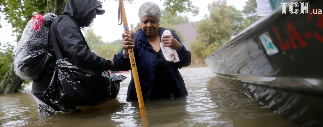 """Губернатор штата Техас оценил ущерб от урагана """"Харви"""""""