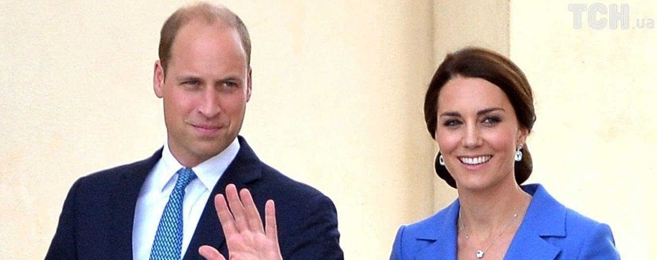 Принц Вільям прокоментував третю вагітність Кейт Міддлтон