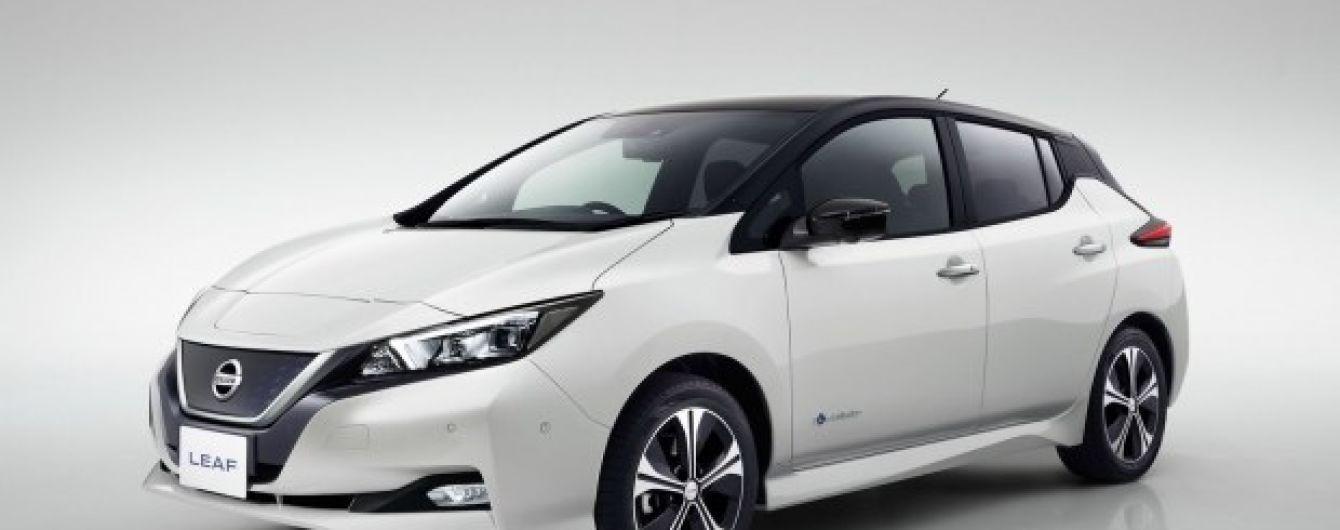 Nissan рассекретил электрокар Leaf с инновационным управлением