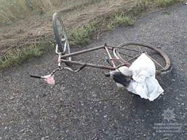 На Днепропетровщине подросток на велосипеде подорвался на гранате, привезенной из зоны АТО