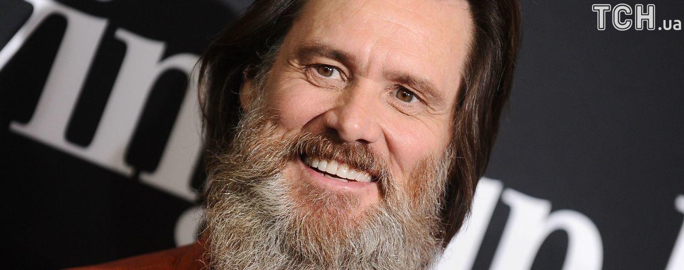 Время перемен: Джим Керри сбрил густую бороду