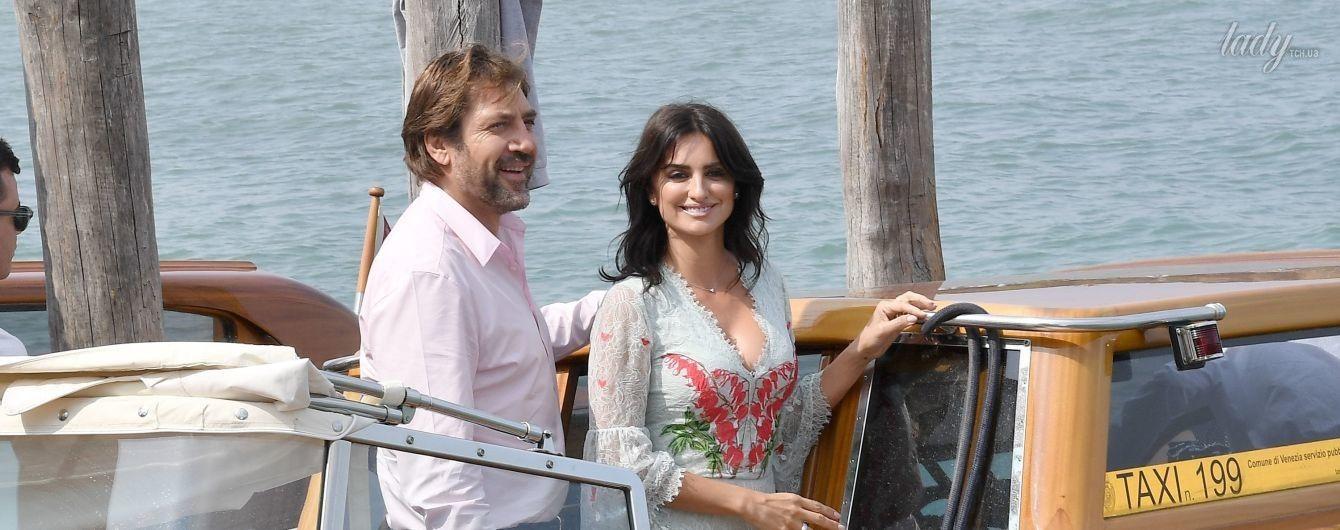 Красивые и влюбленные: Пенелопа Крус и Хавьер Бардем в Венеции
