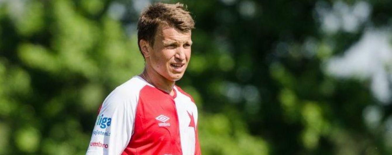 Украинские футболисты попали в заявку чешской команды на Лигу Европы