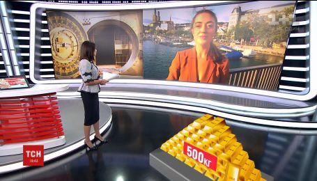 Швейцарія відмовилася назвати власника 500 кілограмів золота