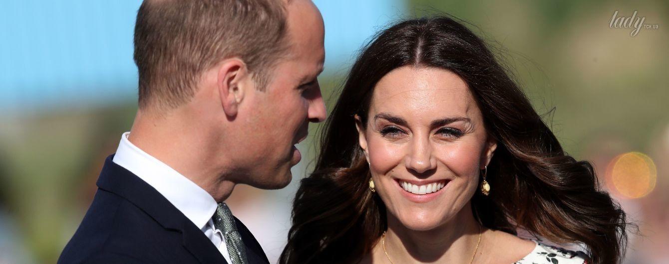 Принц Уильям впервые прокомментировал третью беременность герцогини Кембриджской