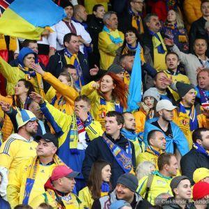 """Как украинские фанаты """"рвали глотки"""" в Исландии"""