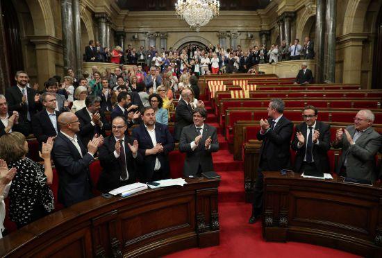 Парламент Каталонії проголосував за референдум про незалежність від Іспанії