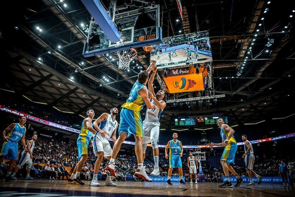 україна-ізраїль євробаскет-2017