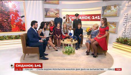 """Мама року 2017 – Лідія Іщук у студії """"Сніданку з 1+1"""""""