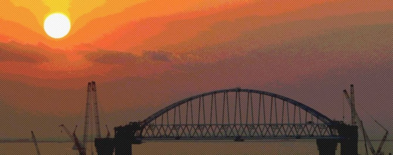 Омелян рассказал, как остановить незаконное строительство Керченского моста