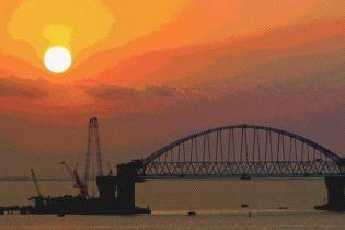 Омелян розповів, як зупинити незаконне будівництво Керченського мосту