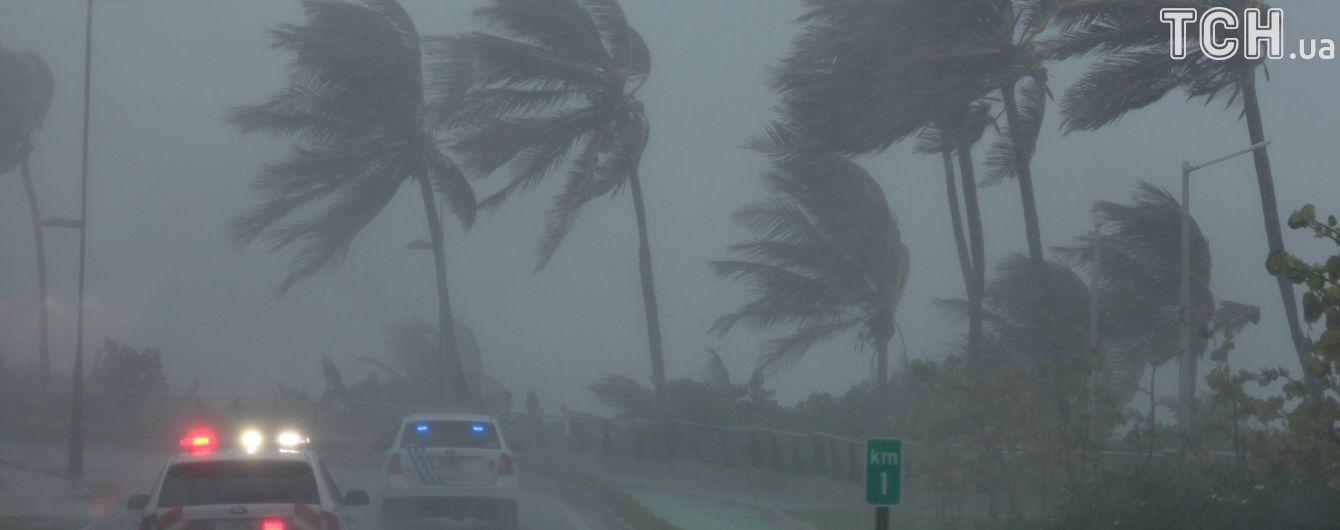 """Ураган """"Ірма"""": МЗС радить українцям не їздити на південне узбережжя США і до країн Карибського басейну"""