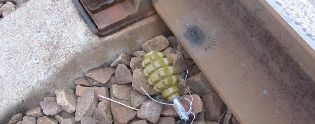 На Луганщине дети обнаружили гранату прямо на железнодорожном пути