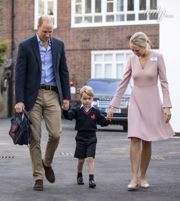 Принц Уильям с сыном принцем Джорджем_1
