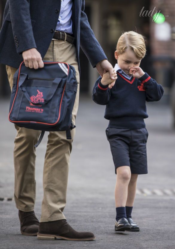 Принц Уильям с сыном принцем Джорджем_2