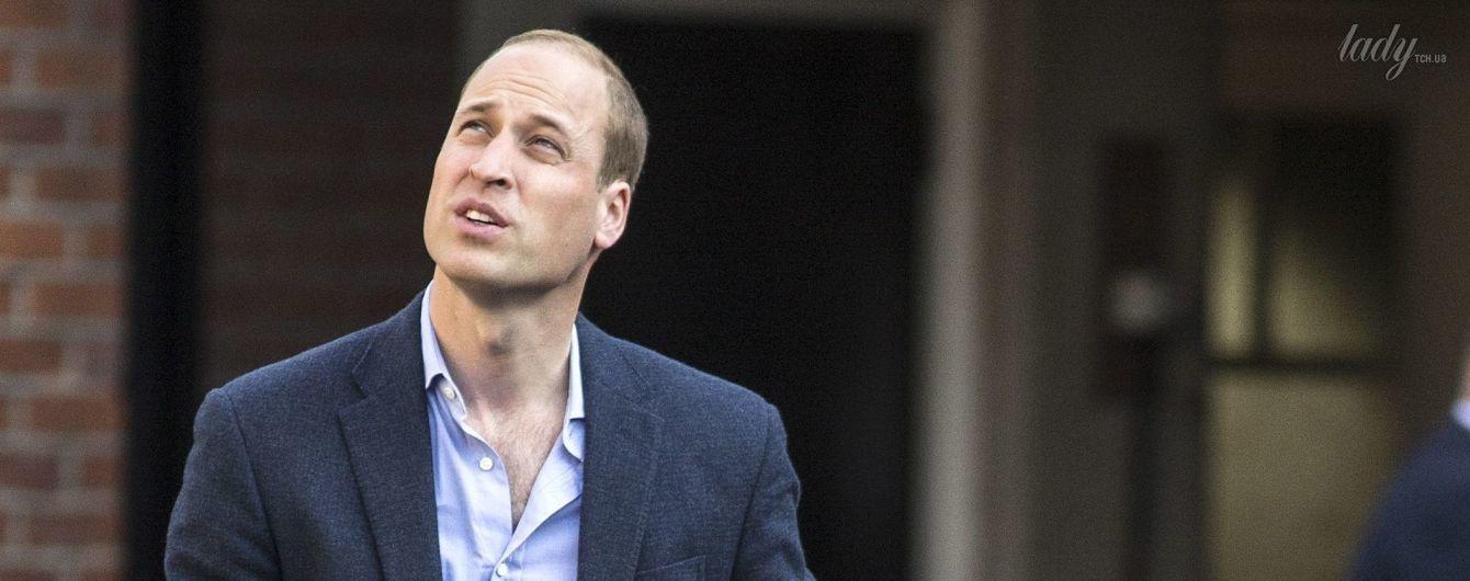 Как это мило: принц Уильям отвел сына принца Джорджа в школу