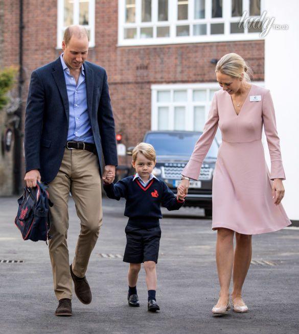 Первая учительница принца Джорджа