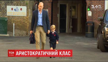 Принц Джордж у 4-річному віці починає вчити французьку мову, займатися гольфом та балетом